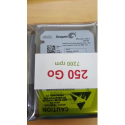 "Disque dur 2.5"" Hard Disk Drive HDD Western Digital WD2500BEVT 250GB 5400 rpm 591194-001"