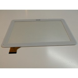 blanc: ecran tactile touchscreen digitizer Wolder dual core (verifier photo, postion webcam)